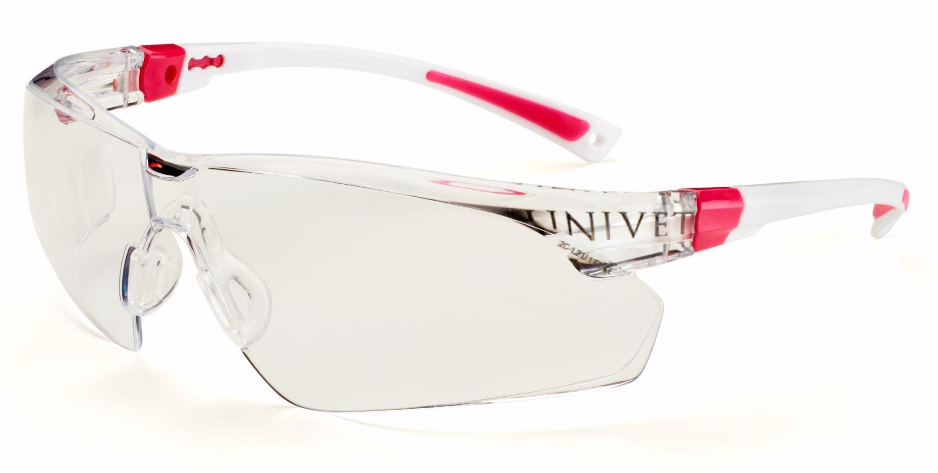 Voorbeeld spatbril met juiste CE-marketing