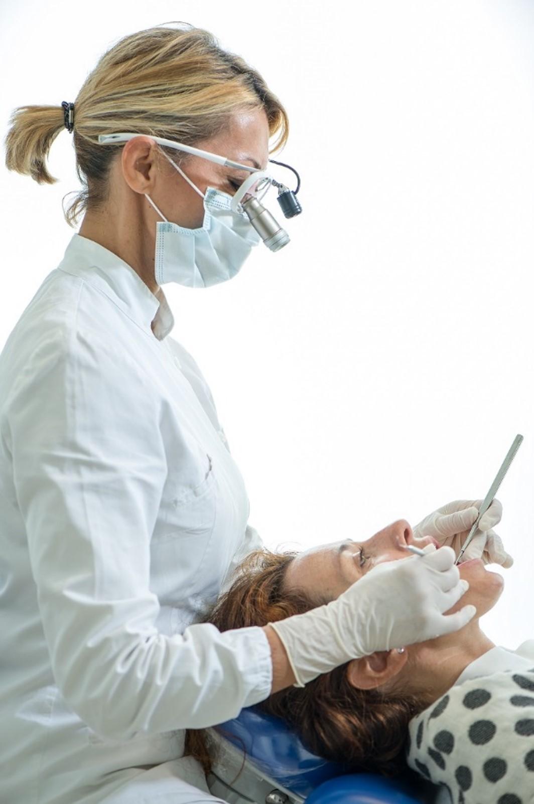 goede ergonomische werkhouding tandarts