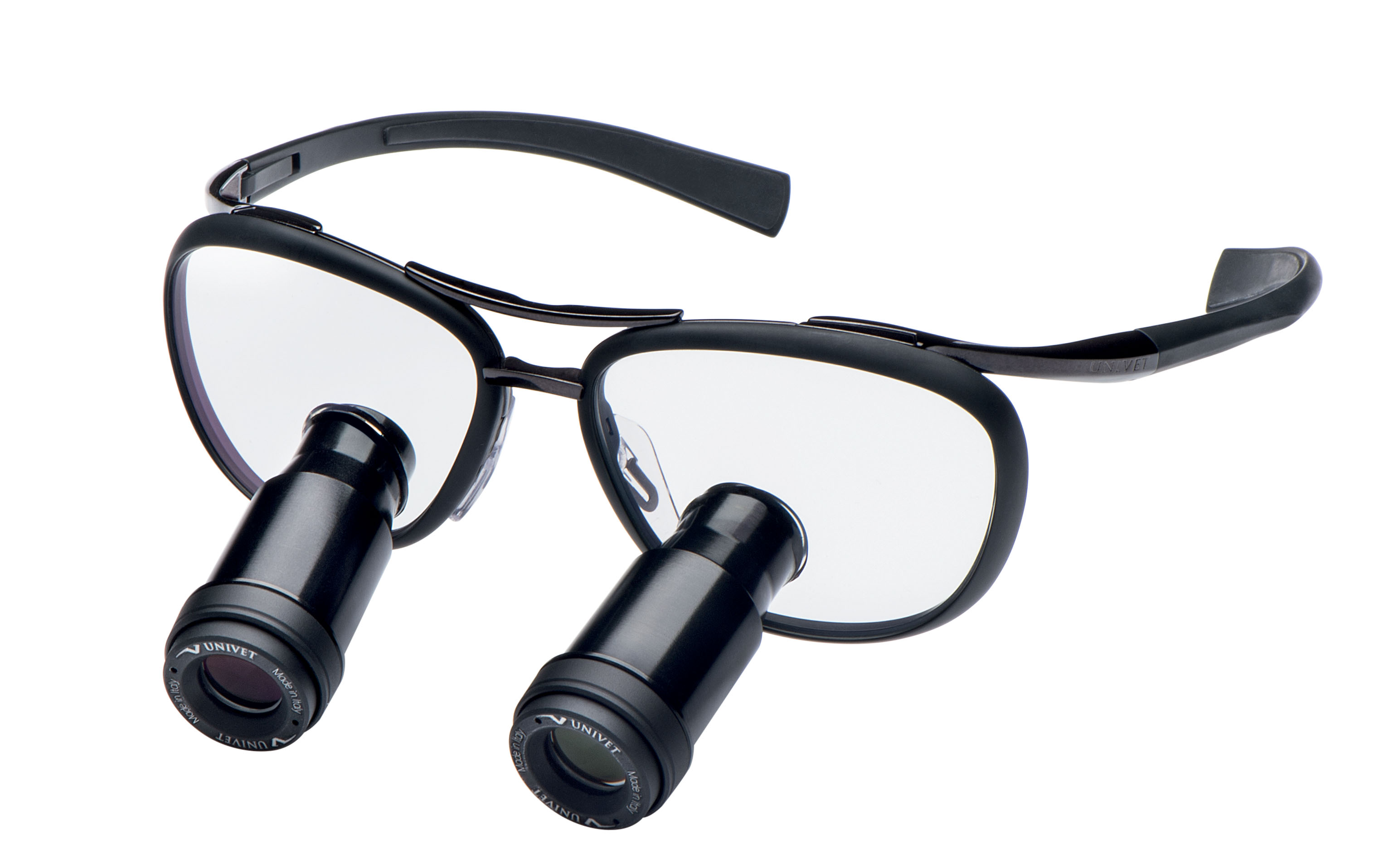 5x vergroting met een prisma loepbril