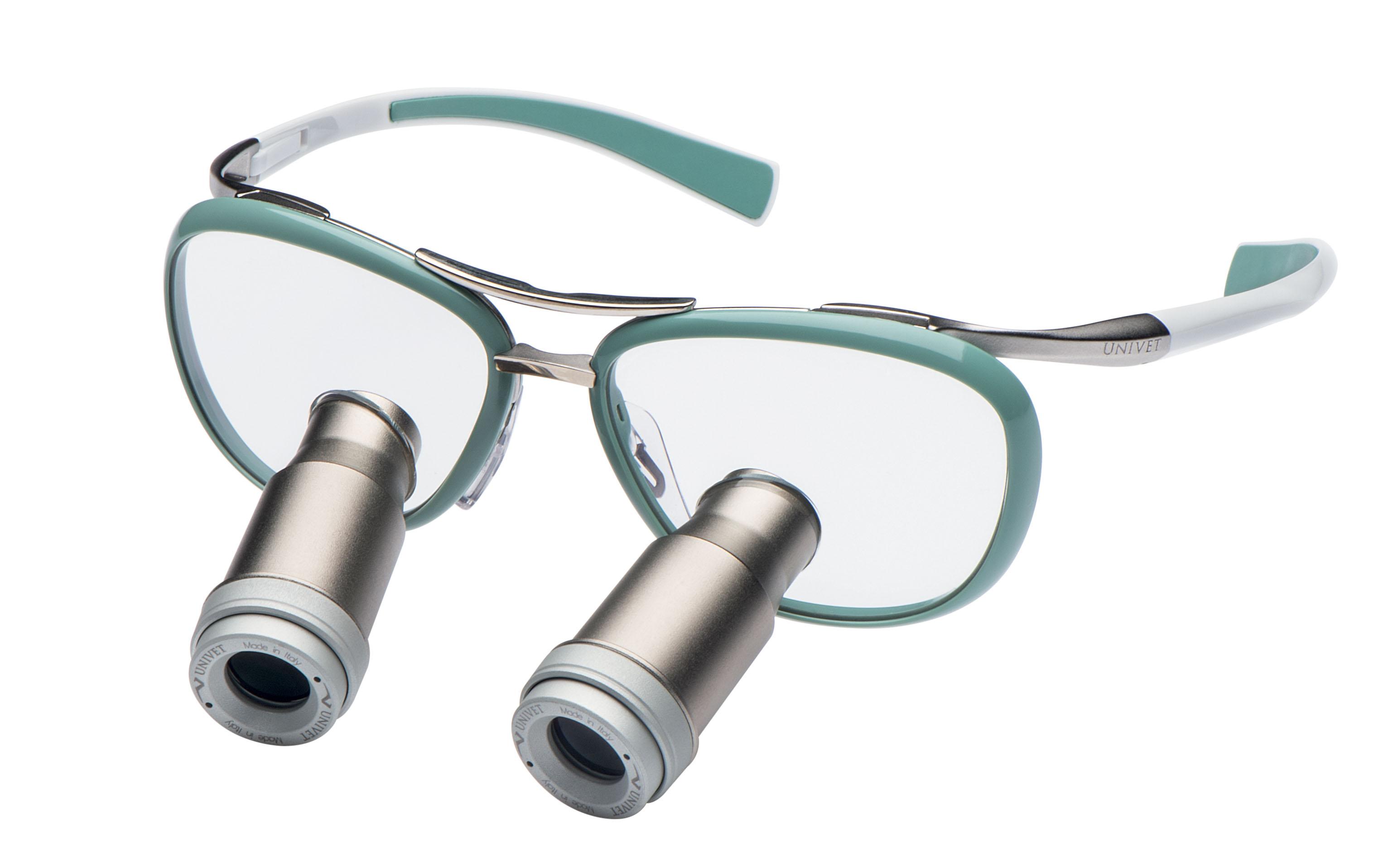 Loepbril met prisma loep