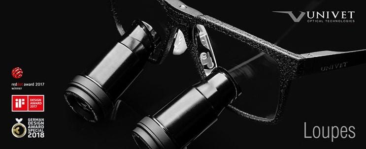 Univet Black Edition loepbrillen